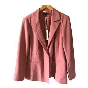 LANE BRYANT Bryant Blazer Pink Stretch size 24